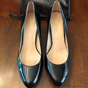 Cole Haan Women's Black Patent Leather Pumps